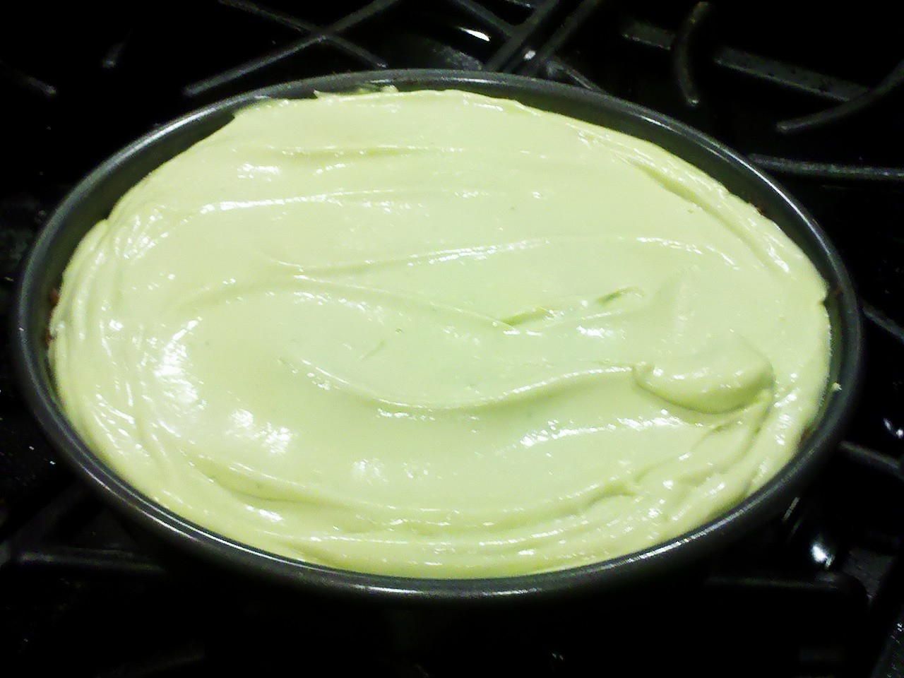 Avocado Lime Cheesecake with Almond Crust using a High Performance ...
