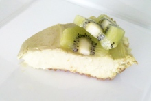 Avocado Lime Cheesecake with Almond Crust using a High Performance Blender