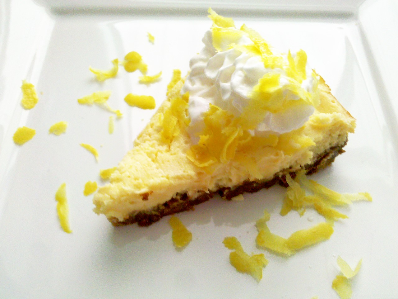 High-Speed Blender Lemon Cream Pie | unwind cooking