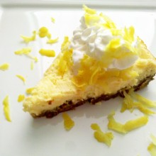 High-Speed Blender Lemon CreamPie
