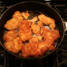 Cashew Crusted Parmesan Chicken