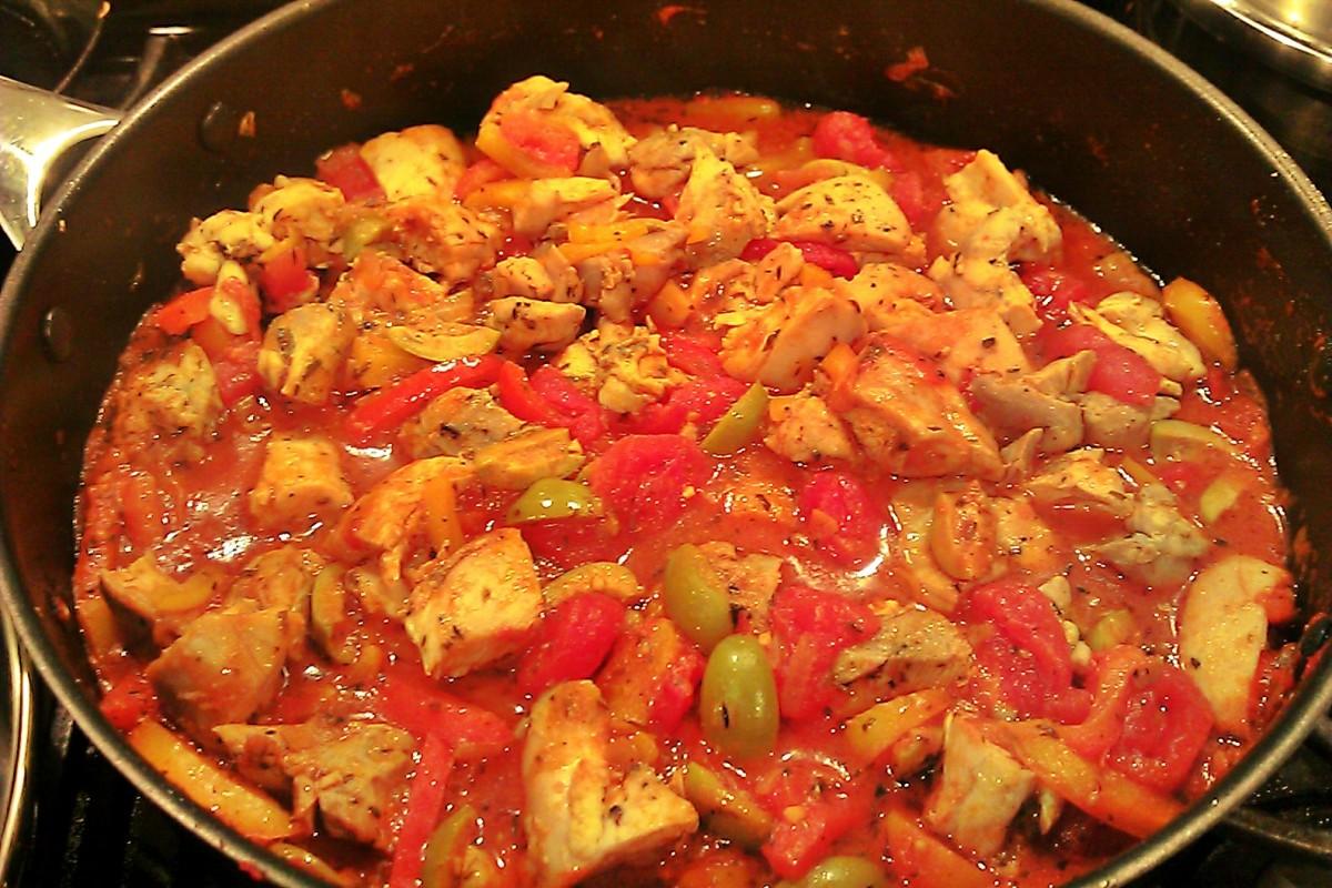 Chicken Provençal | unwind cooking