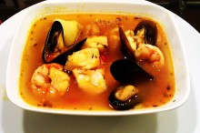 Sopa de Mariscos(Bouillabaisse)