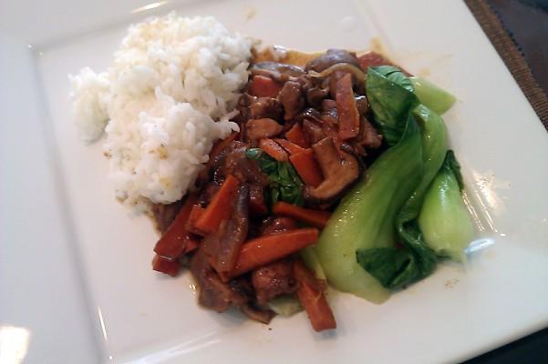 Chinese 5 Spice Chicken with Shiitake Mushrooms