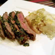 Steak with Chimichurri Salsa (Argentinian)