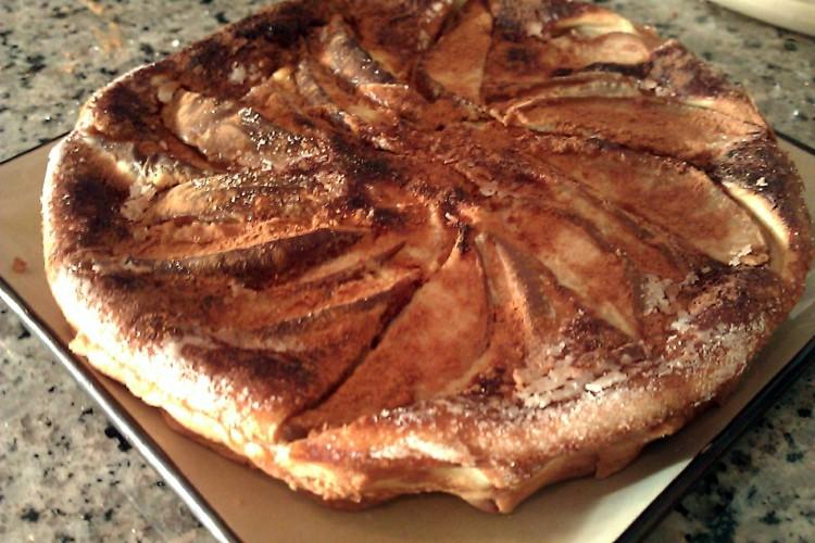 Oven Pear Pancake