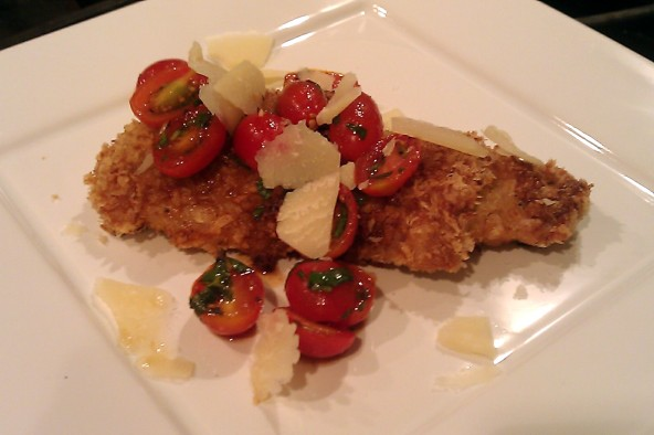 Chicken Milanese Spicy