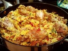 Arroz con Pollo (Spanish style Chicken andRice)